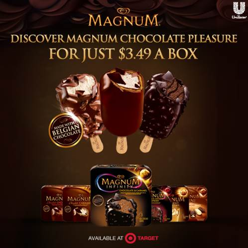 Magnum Ice Cream Bars Target Deal