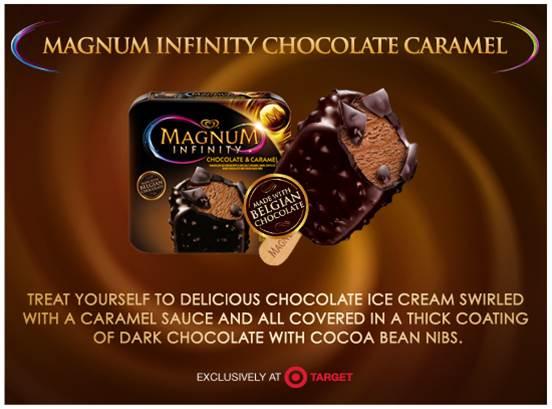 Magnum Chocolate Infinity Caramel