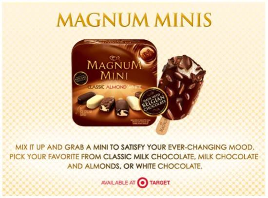 Magnum Minis, Easy Holiday Treats