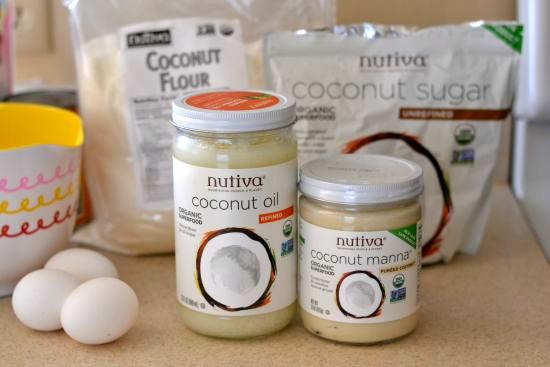 Nutiva coconut flour, coconut flour recipes, baking with coconut flour, paleo recipes, gluten free recipes