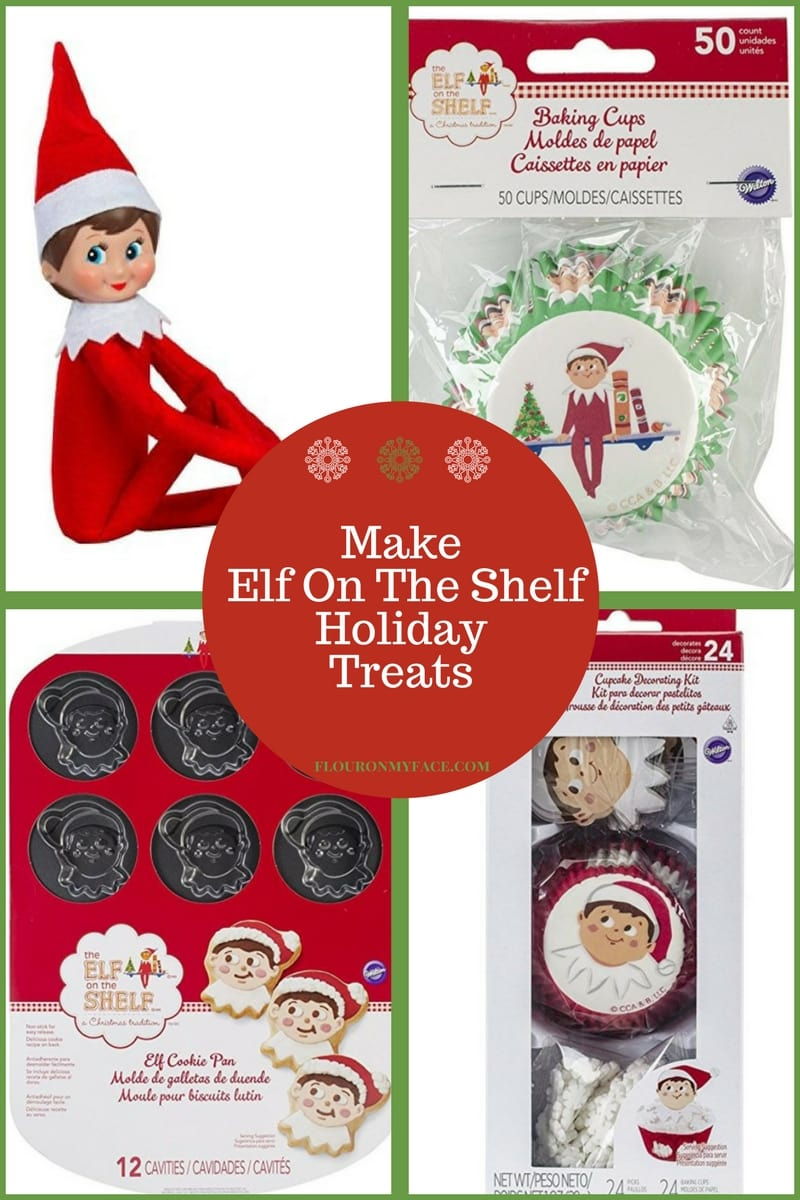 Get your Elf On The Shelf Baking Supplies on Amazon