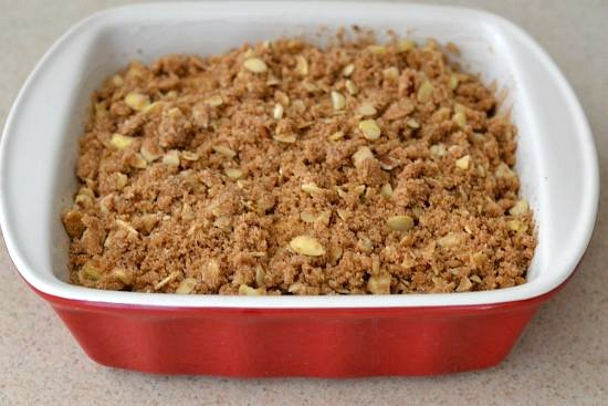 making coffee cake with streusel topping, apple cinnamon streusel recipes