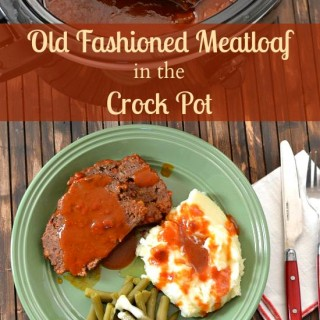 Old Fashioned Crock Pot Meatloaf