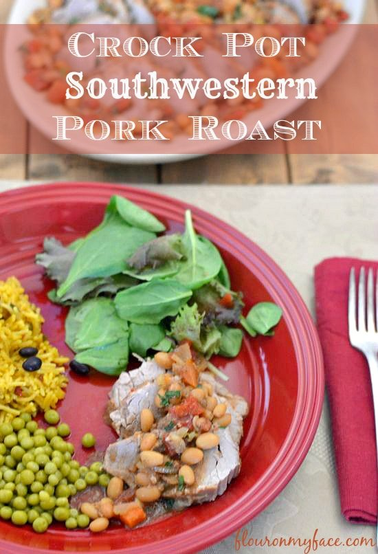 Crock Pot Southwestern Pork Roast