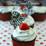 Easy Black Forest Cupcakes