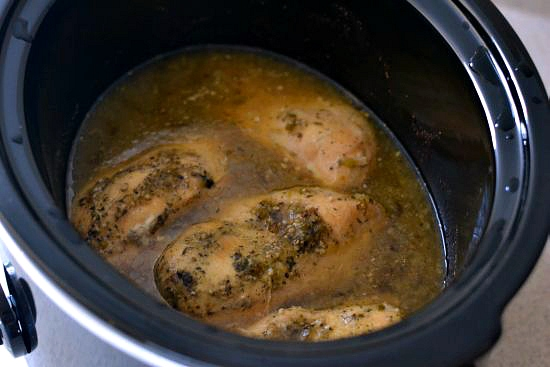 Easy Crock Pot Salsa Verde Chicken