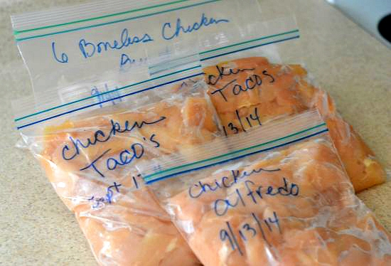 freezing boneless chicken breasts