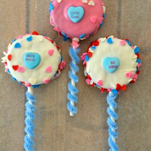 Pink and Blue OREO Cookie Pops