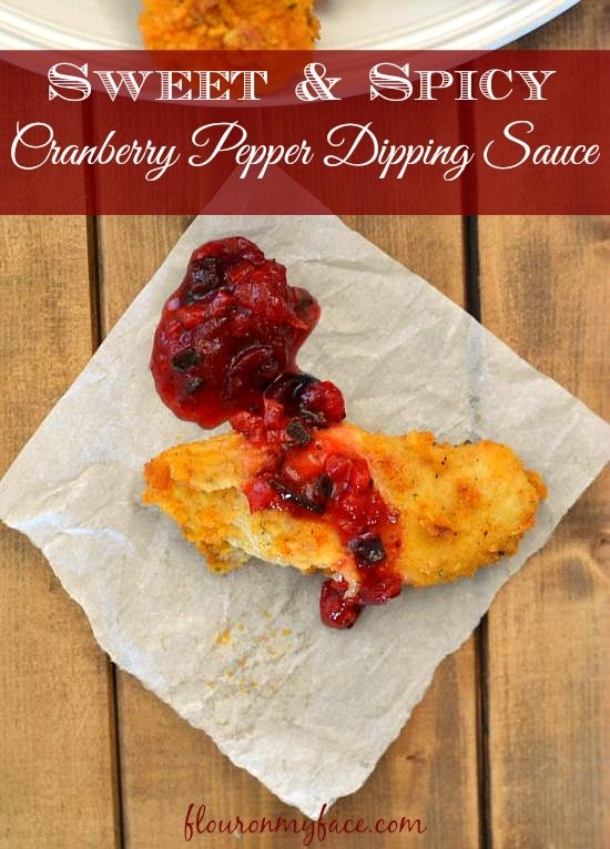 Sweet And Spicy Cranberry Pepper Dipping Sauce