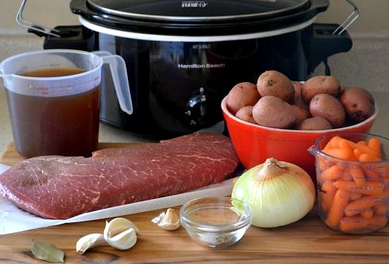 Crock Pot London Broil ingredients