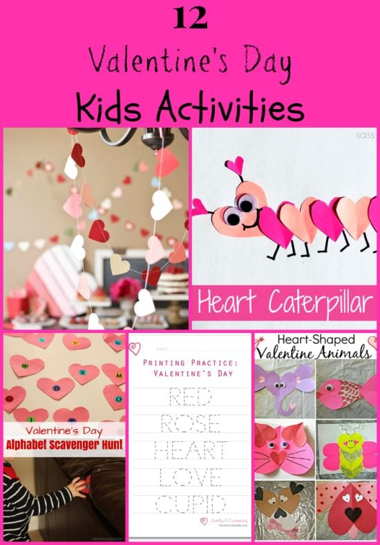 12 Valentines Day Kids Activities