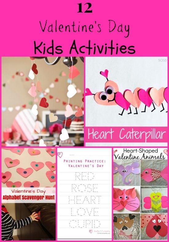 12 Valentines Day Kids Activities