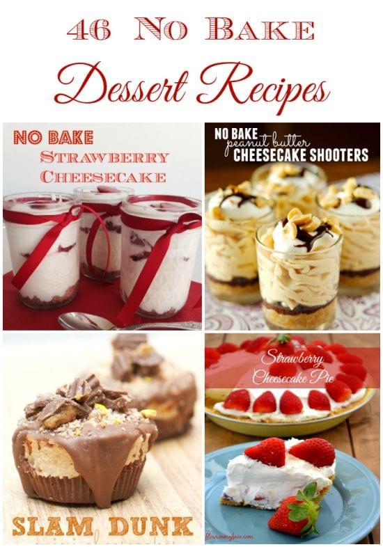 46 No Bake Desserts