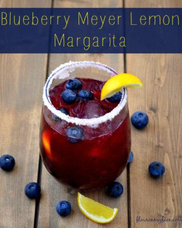 Blueberry Meyer Lemon Margarita