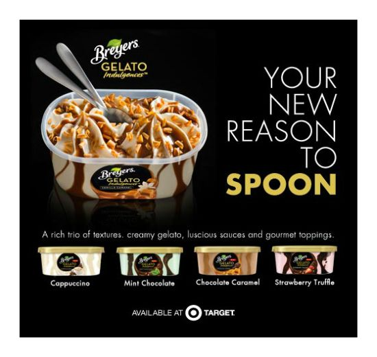 Breyers Gelato Indulgences at Target