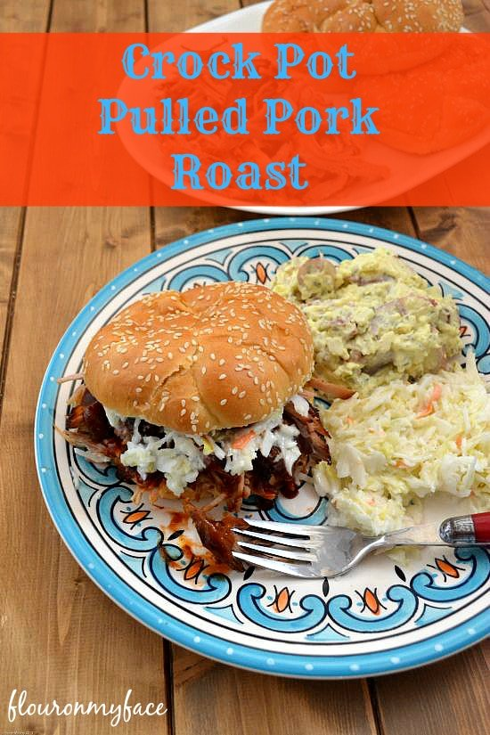 Crock Pot Pulled Pork Roast