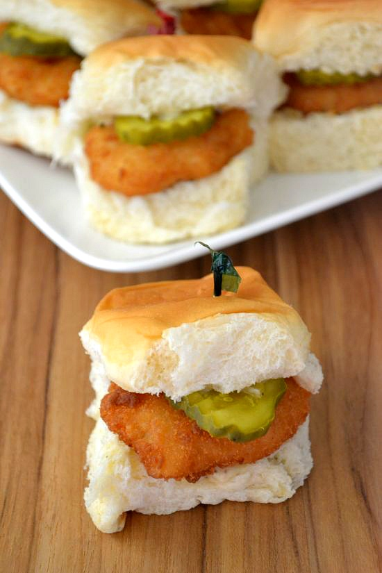 Easy Tasty Shrimp Sliders