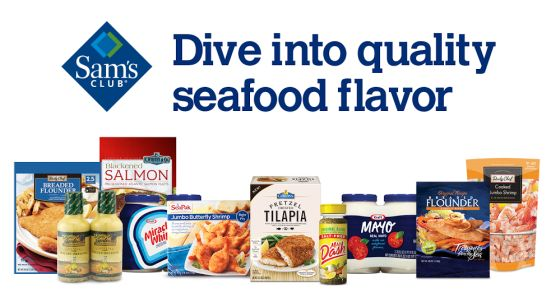 #shop Sam's Club seafood products