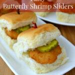 Tasty Butterfly Shrimp Sliders
