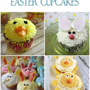 14 Easter Cupcake Recipes via flouronmyface.com