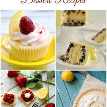 27 Lemon Dessert Recipes by flouronmyface.com