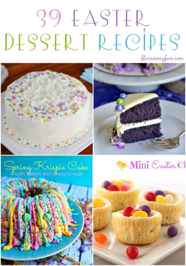 39 easter dessert recipes for Dessert for easter dinner
