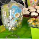 Baby Shower Deesert Table by flouronmyface.com