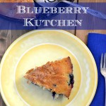 Old vontage German Blueberry Kutchen recipe