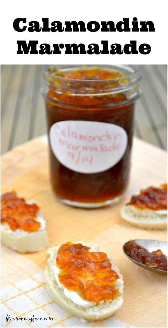 Calamondin Marmalade from flouronmyface.com