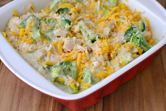 Savory Cheesy Chicken Broccoli Rice - Flour On My Face-3611