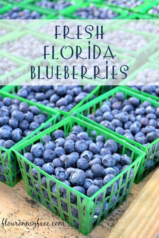 FResh Florida Blues at the Farmers Market ffrom flouronmyface.com