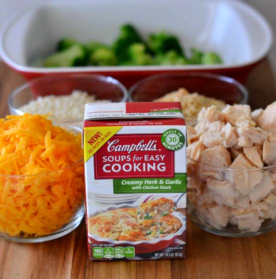 Savory Cheesy Chicken Broccoli Rice - Flour On My Face-8416