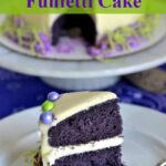 Purple Funfetti Cake