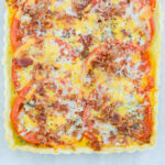 Tomato Rosemary Bacon Tart
