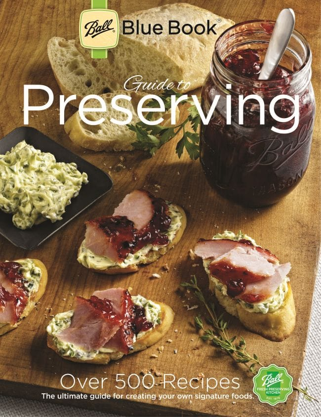 New Ball Blue Book Guide to Preserving cover
