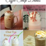 21 DIY Coffee Shop Drinks you can make at home via flouronmyface.com