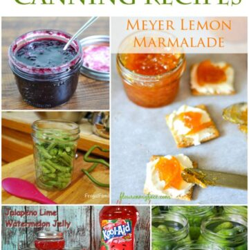 57 Canning Recipes roundup featured image