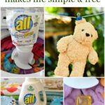 Be Free with all clear free Laundry Detergent via flouronmyface.com