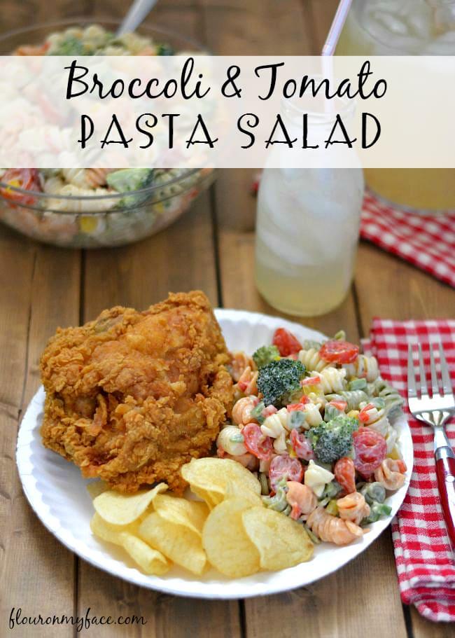 Broccoli and Tomato Pasta Salad