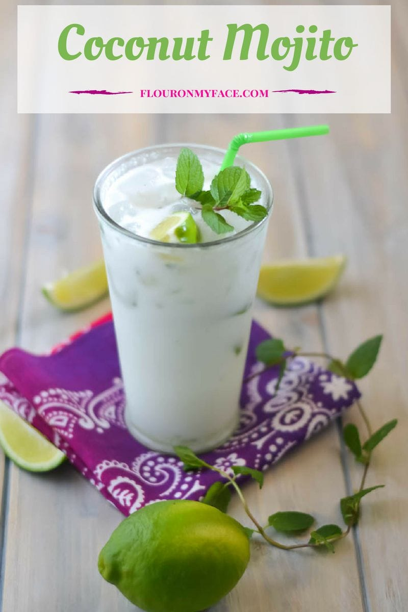 Tropical cocktail recipes perfect for summer sipping: Coconut Mojito recipe