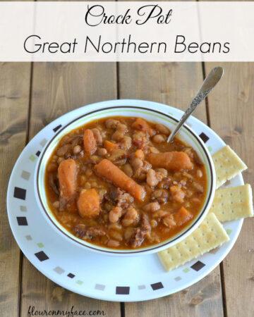 Crock Pot Great Northern Beans
