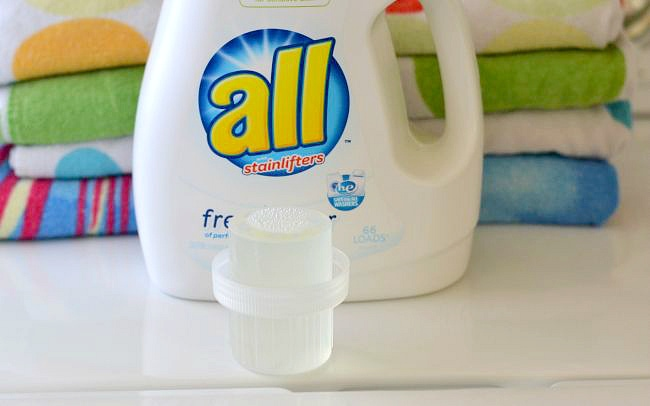 Frangrance and dye free all free clear laundry detergent