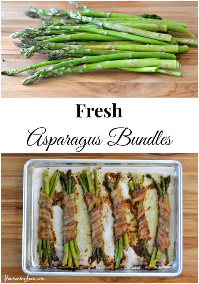 Savor the first taste of Spring with Bacon Wrapped Asparagus Bundles via flouronmyface.com
