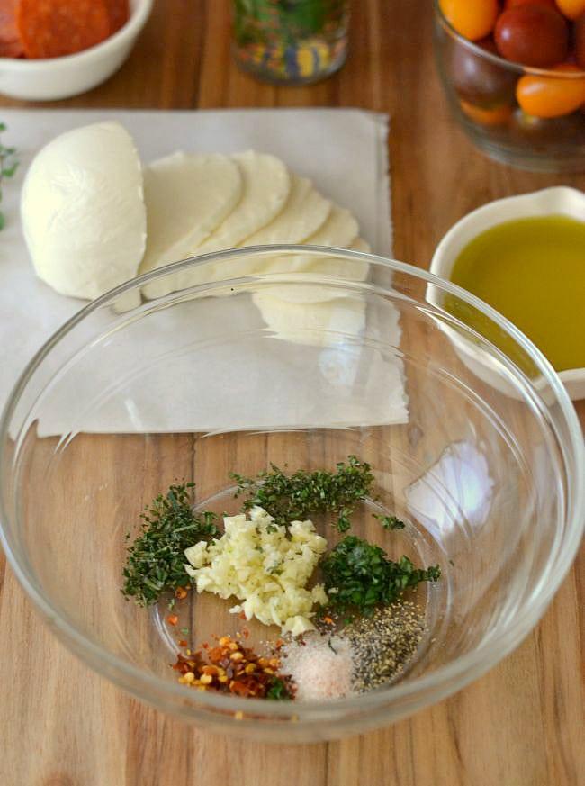 How to make Brucshetta #shop via flouronmyface.com