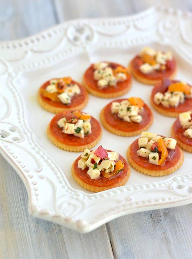 Ritz-Appetizer-recipe #shop via flouronmyface.com