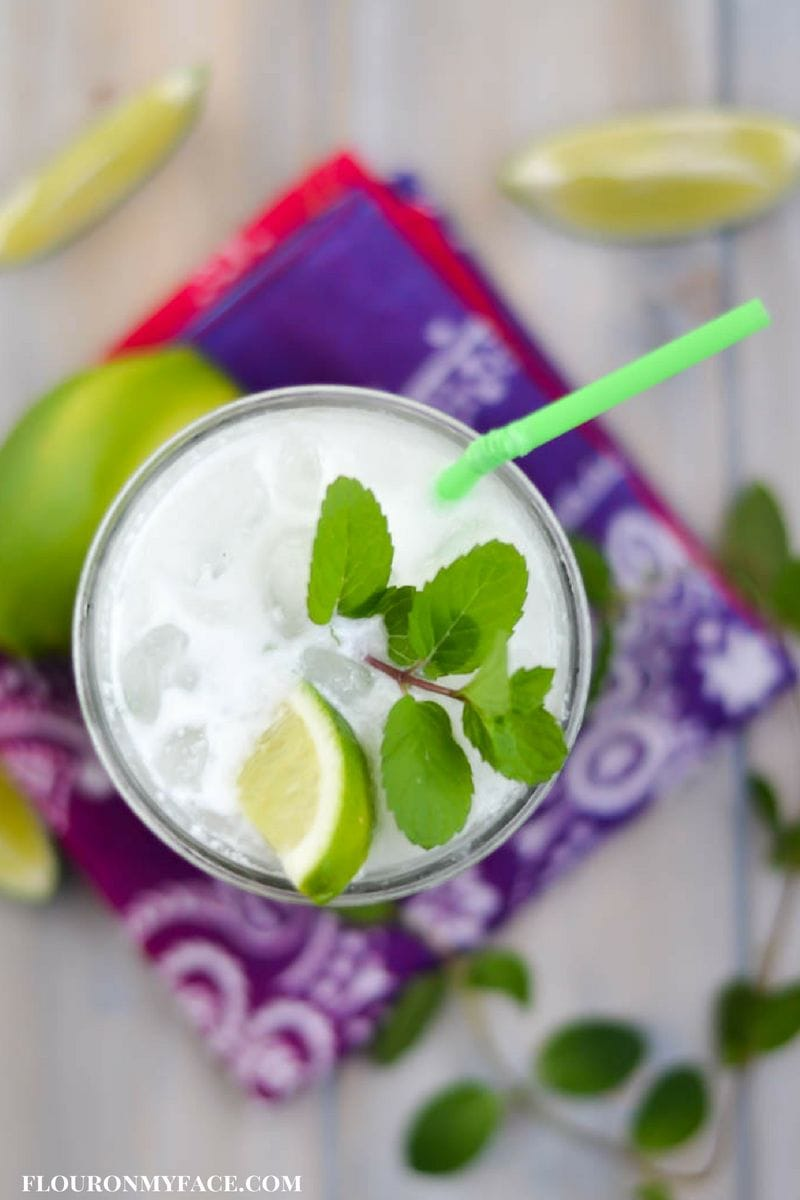 Bahama Breeze Copycat Coconut Mojito recipe