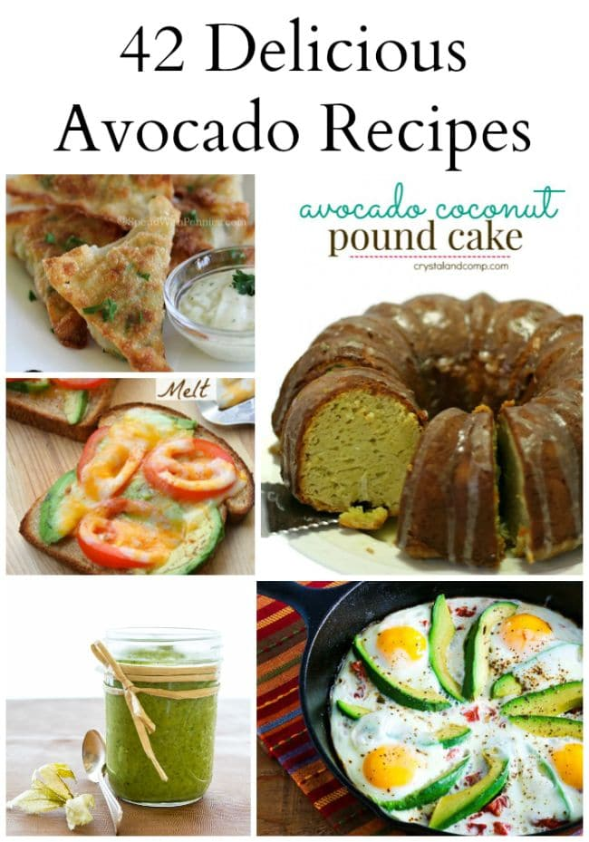 42 Avocado Recipes that will make your mouth water via flouronmyface.com