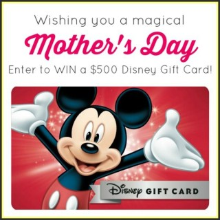 Disney Mothers Day Sweepstakes
