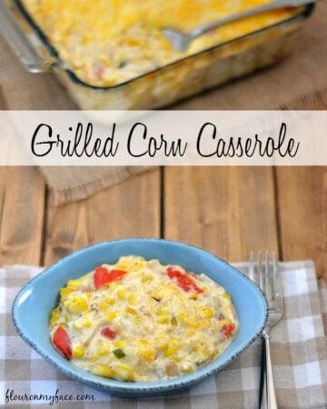 Fresh from Florida Sweet Corn makes a delicious Grilled Corn Casserole recipe via flouronmyface.com