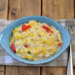 Grilled Corn Casserole recipe via flouronmyface.com